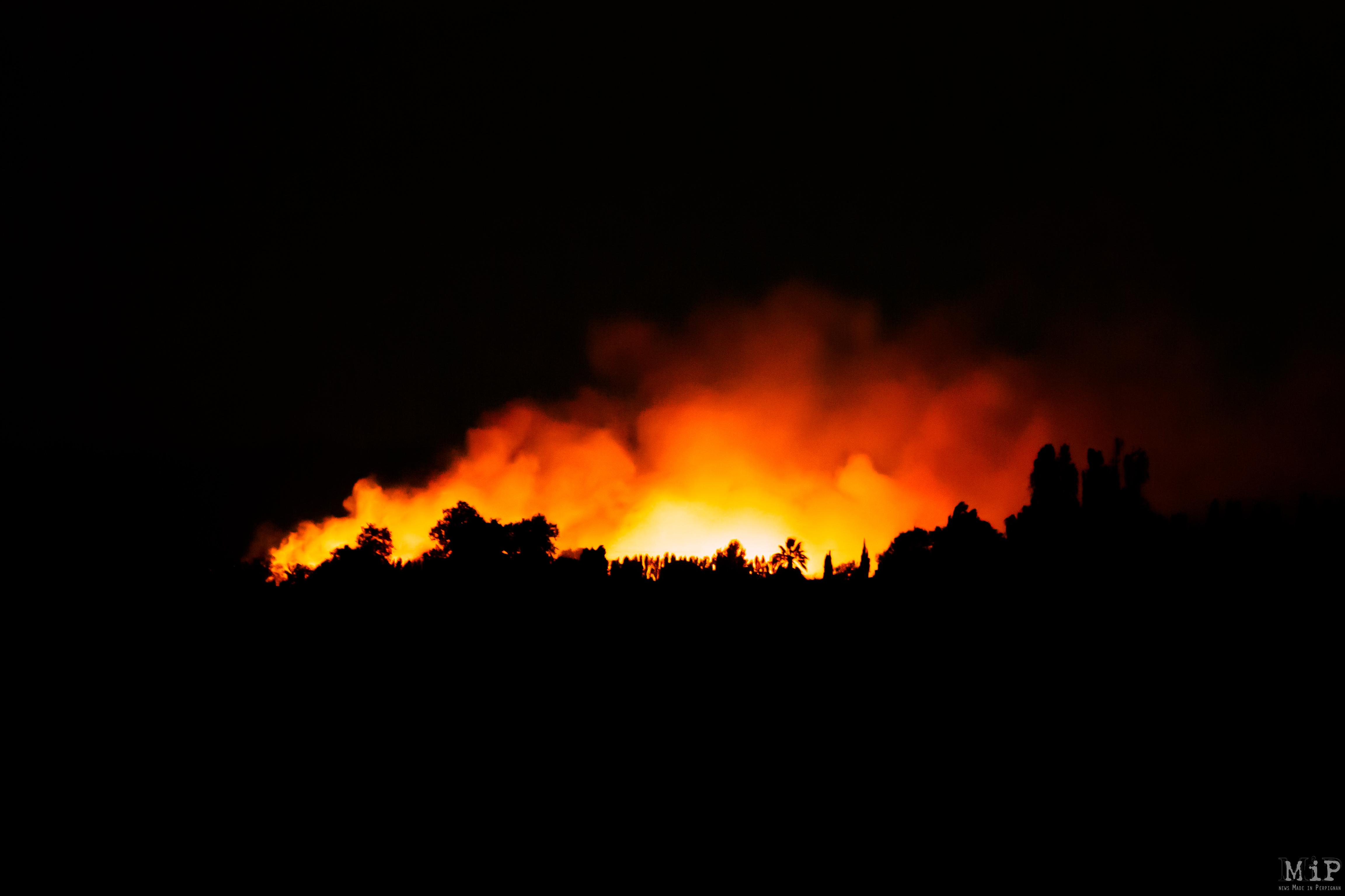 Incendies été 2019 Salanque
