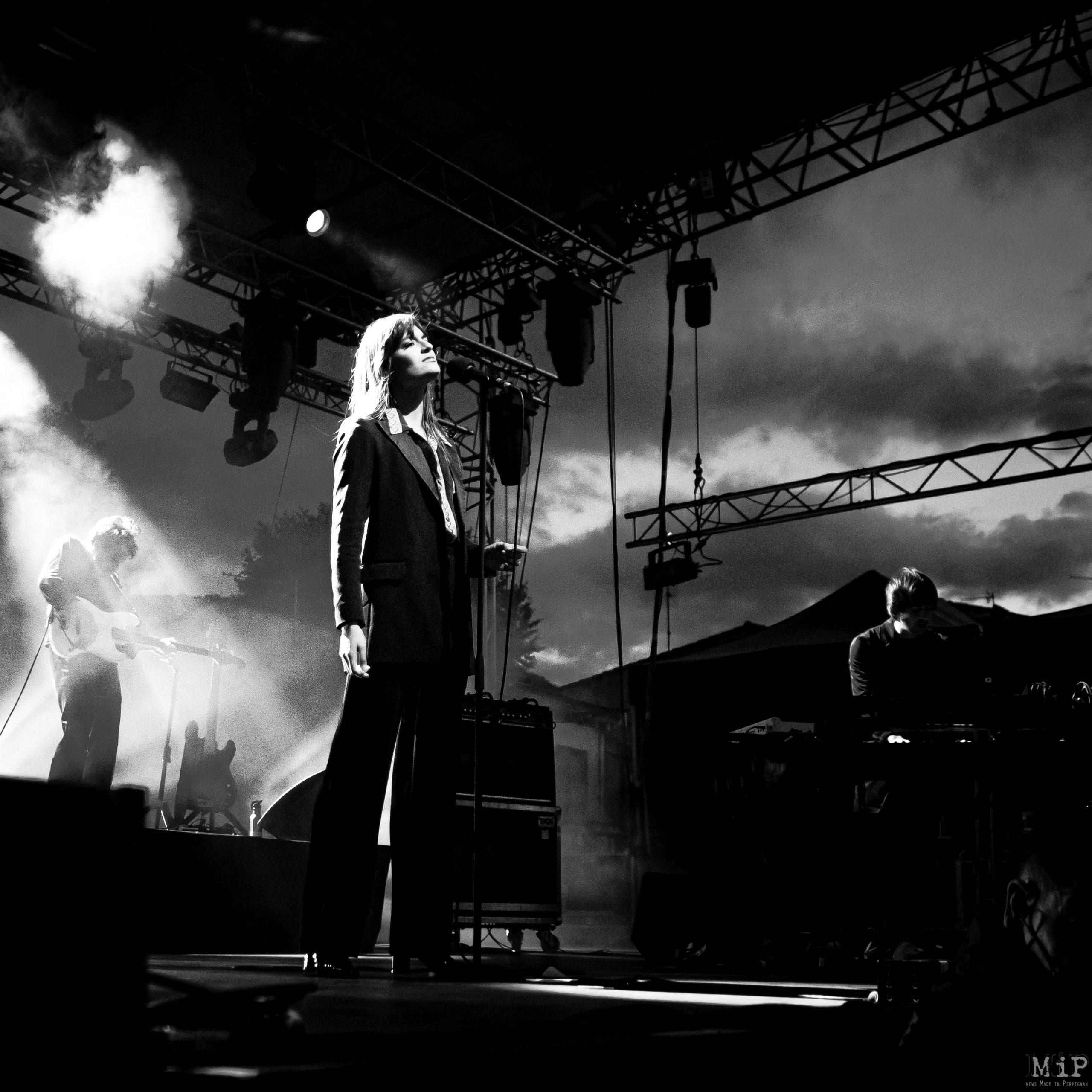 Maury, France, Clara Luciani Festival Voix de Femmes 2019 © Arnaud Le Vu / MiP / APM