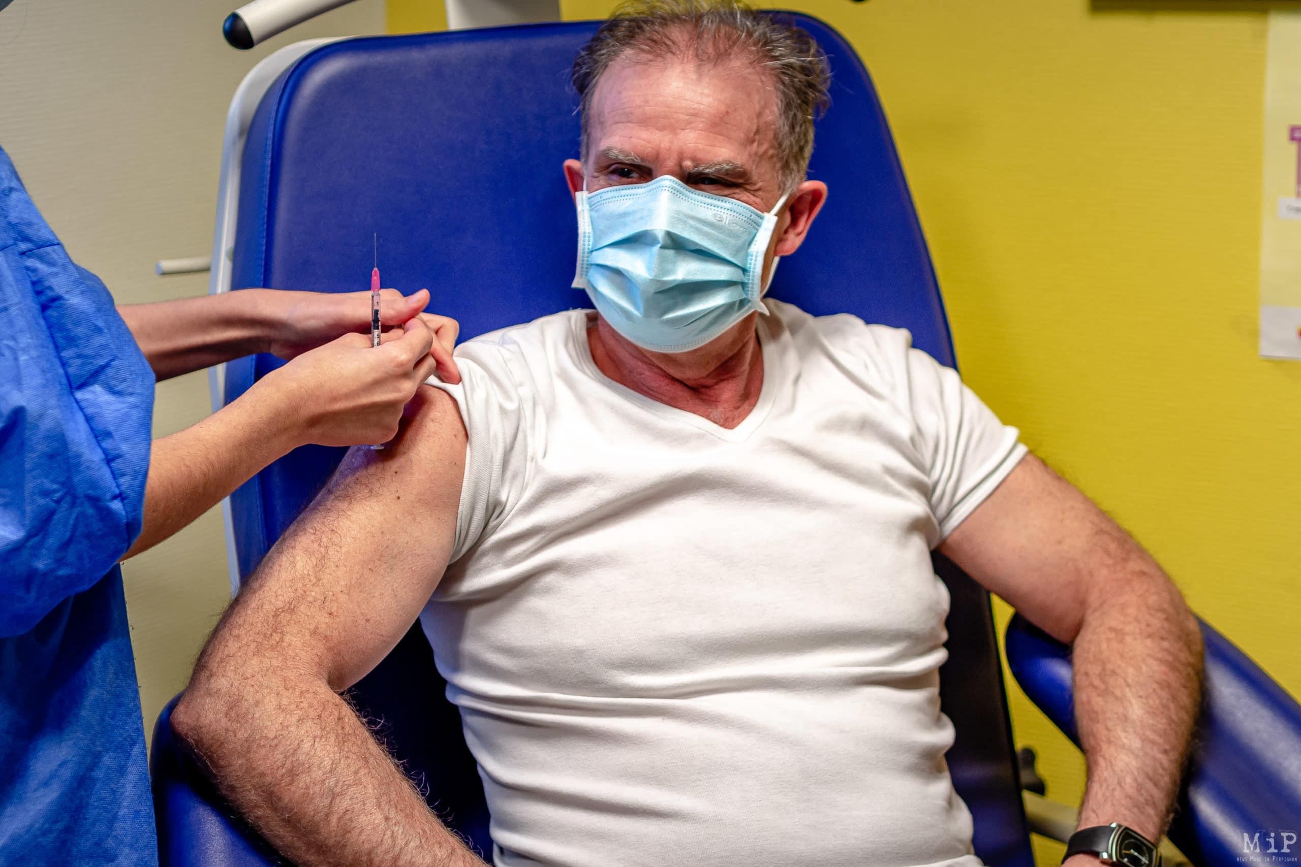 04/01/2021, Perpignan, France, Vaccination Covid-19 centre © Arnaud Le Vu / MiP
