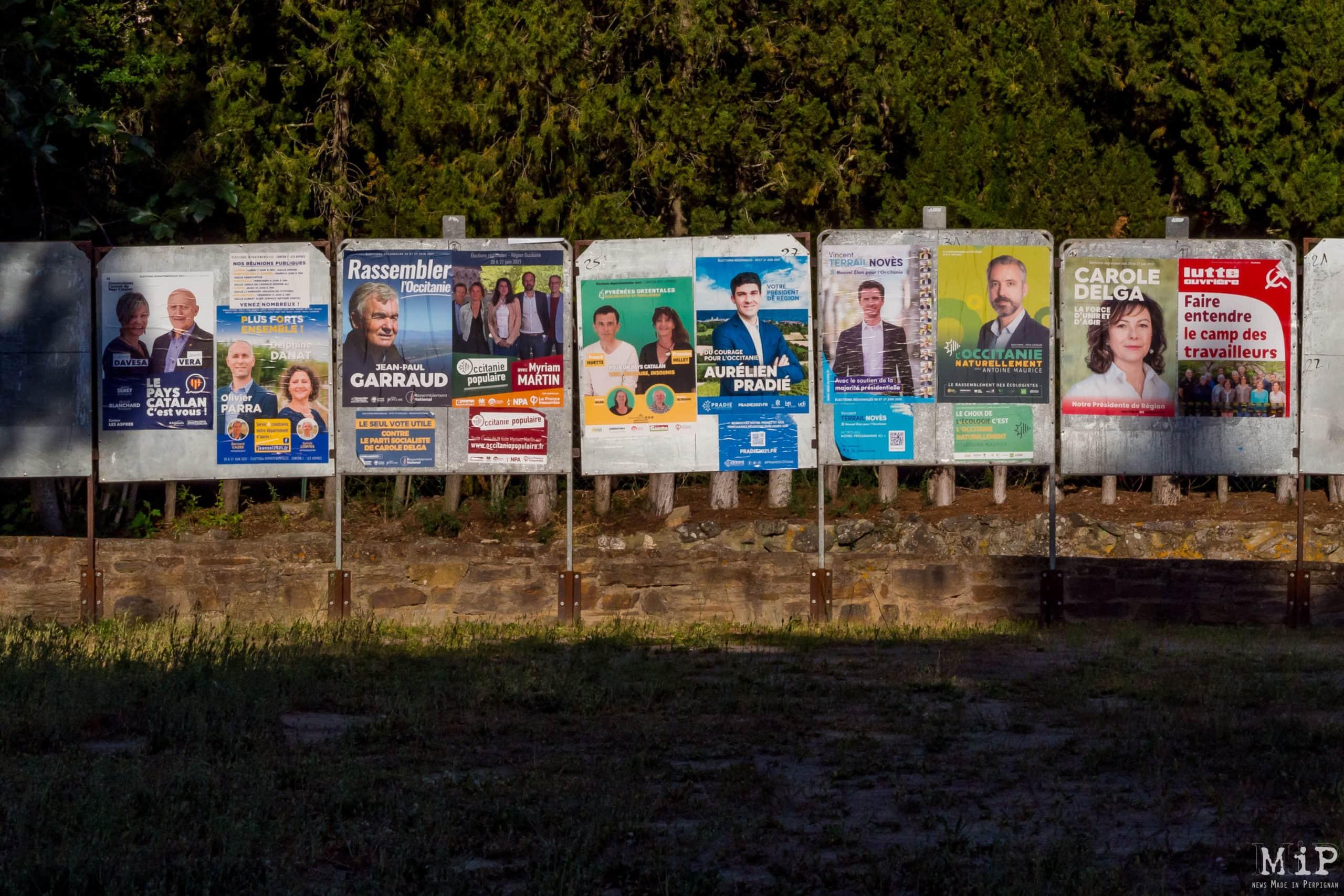 Elections départementales / regionales Pyrénées-Orientales