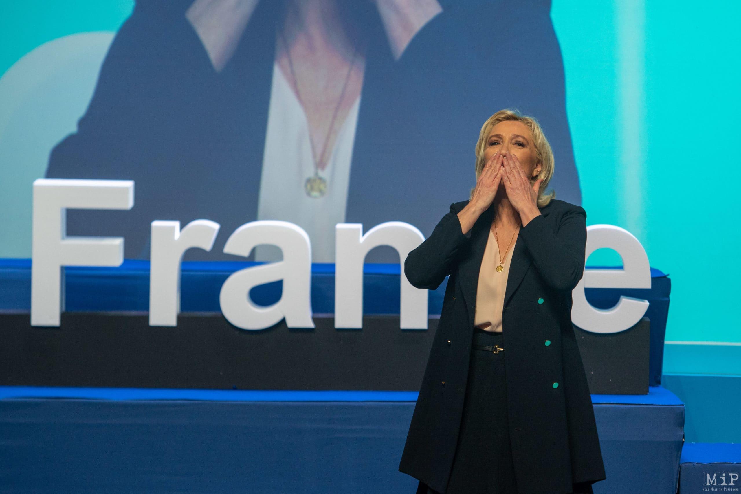 Congrés RN Perpignan © Arnaud Le Vu / MiP / HL